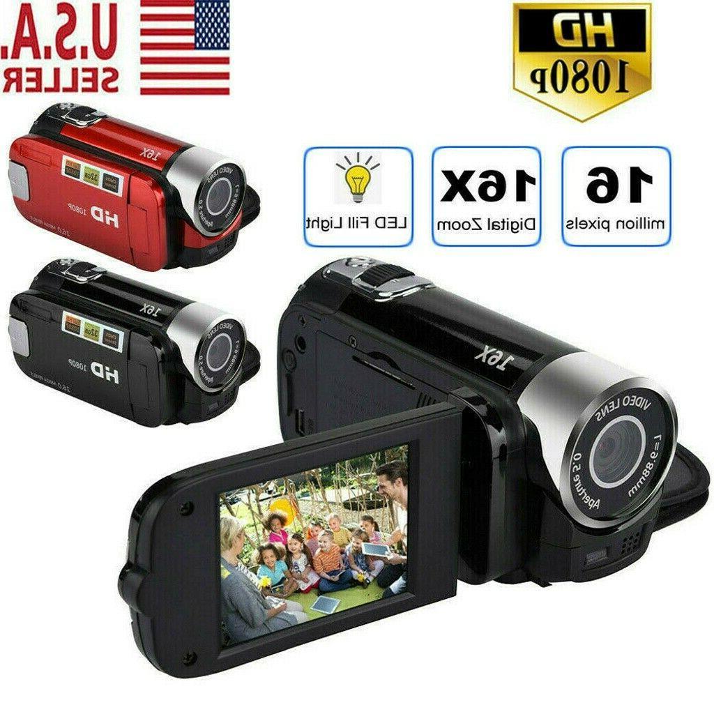 camcorder digital video camera 1080p hd tft