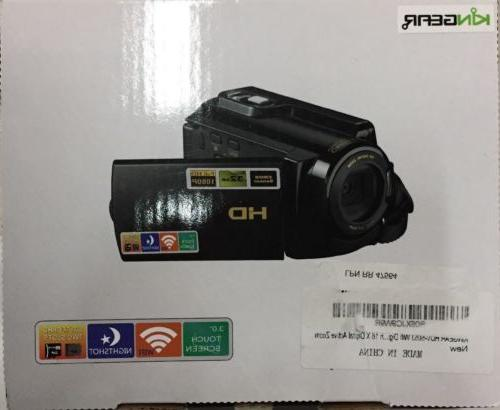 camcorder hdv 5053 fhd wi fi digital