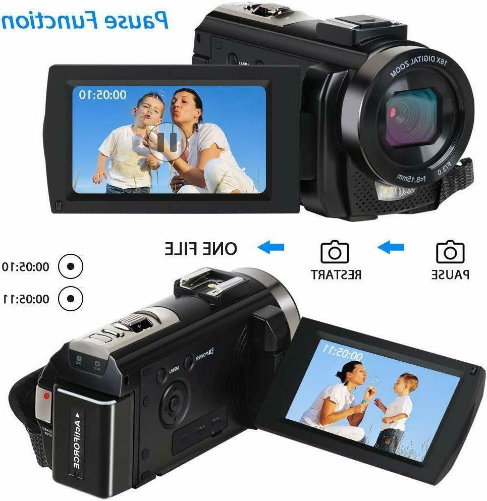 Camcorder YouTube Vlogging 1080P
