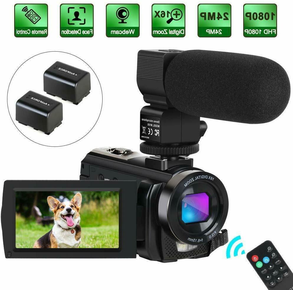 camcorder video camera digital youtube vlogging camera
