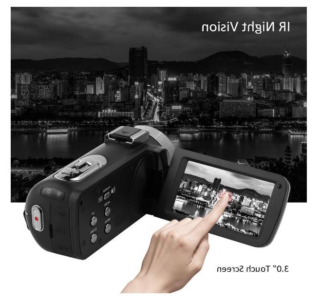 Camcorder Full HD 1080P Camcorder Vlogging Camera