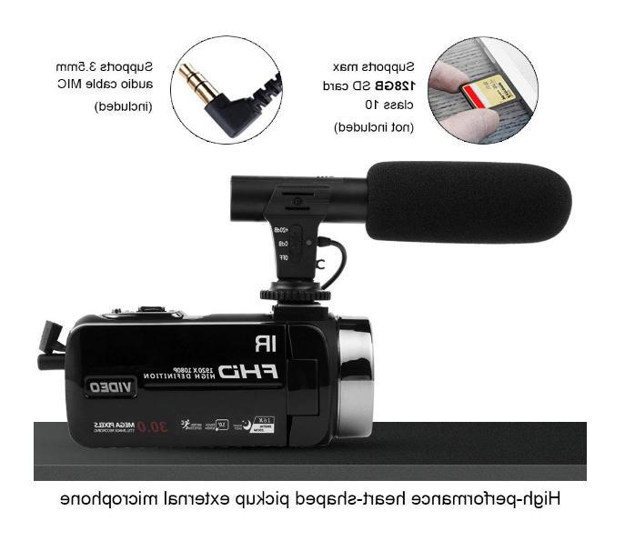 Camcorder HD Night Camcorder Vlogging Blog