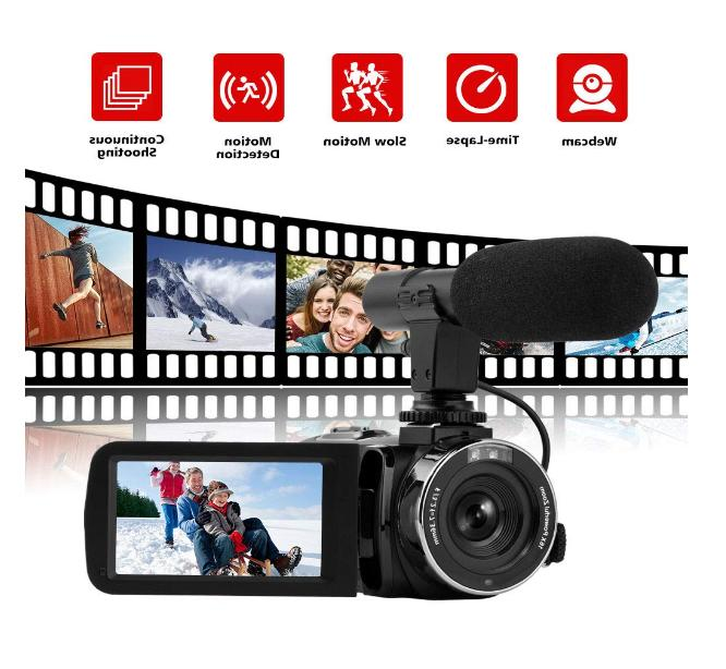 Camcorder Full HD Camcorder Vlogging