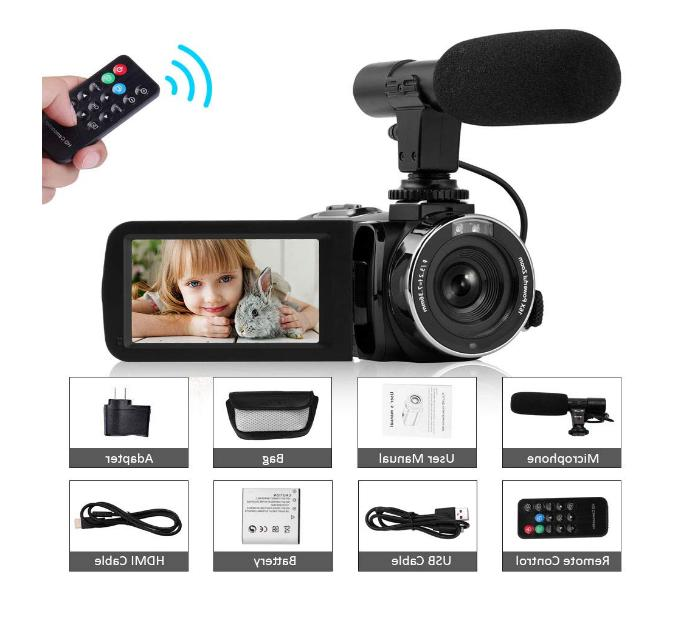 camcorder video camera full hd 1080p night