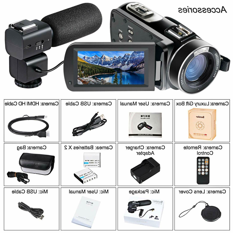Besteker Video HD 24MP WiFi Digital Screen