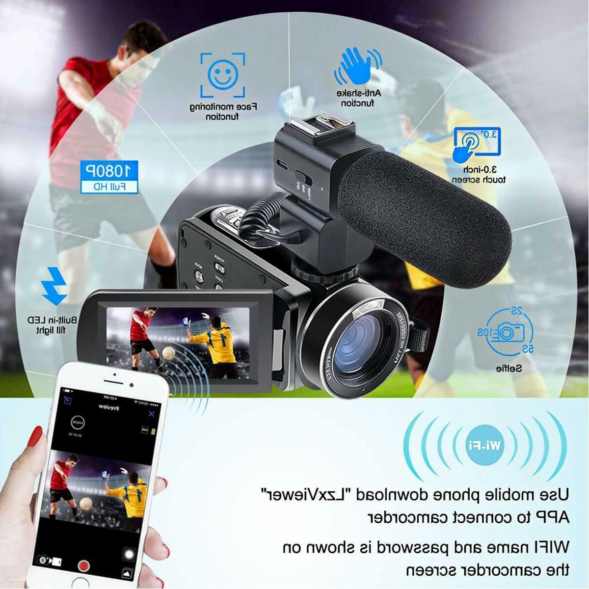 Besteker HD 1080P 24MP Digital LCD Screen