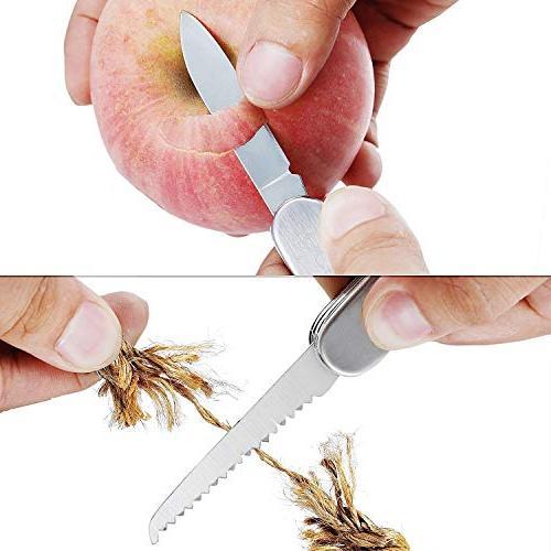 Multitool Knife- 11 in 1 (4 Pack)