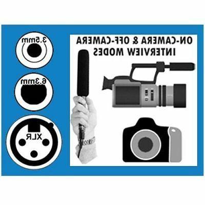 Canon XA30 Camcorder External Microphone Vidpro XM-55 13pc Video /& Broadcast Kit