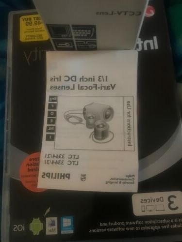 cctv video camera lens ltc 3364 31