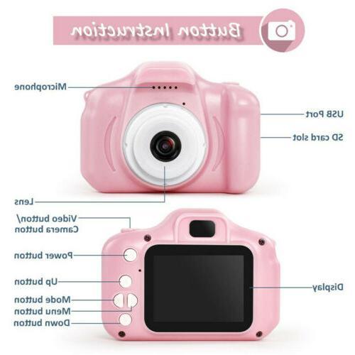 Children Digital Cameras 13MP 1080P Recorder For