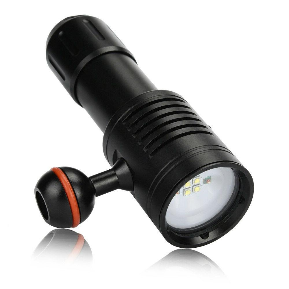 Deep Underwater Scuba Light Torch Lamp