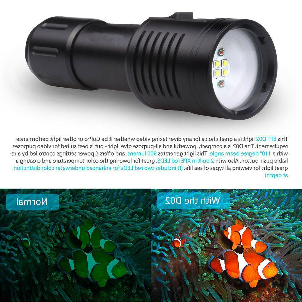 Deep Scuba Diving 100M Video/Camera Light