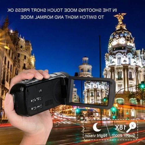 Digital Camcorder Night Vision, Full HD