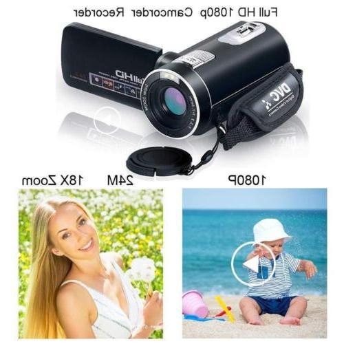 Digital Camcorder with IR Night WEILIANTE