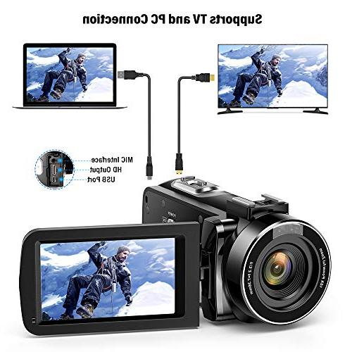Andoer Digital FHD Infrared Night Vision Rotating Digital Zoom Remote Control with Microphone