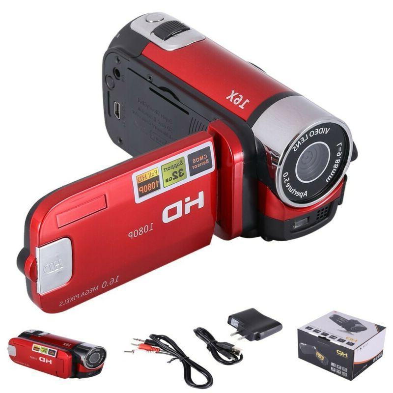 Digital HD Camcorder TFT LCD 24MP Zoom DV AV Night