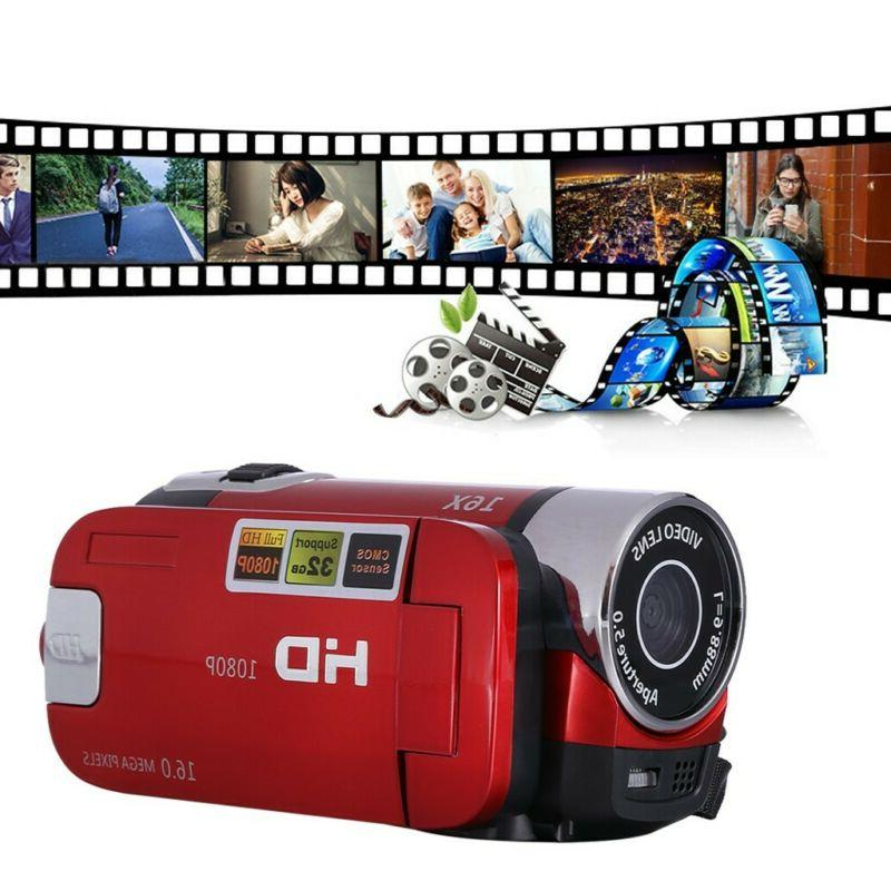 Digital 4K HD Camcorder TFT AV Night Vision