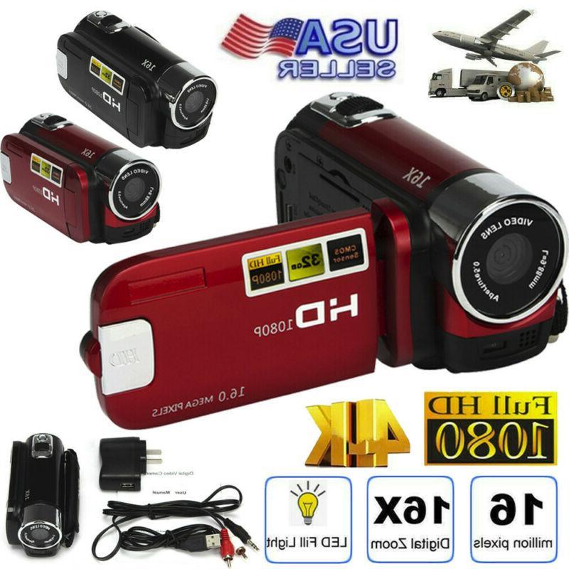 digital video camera 4k hd camcorder tft