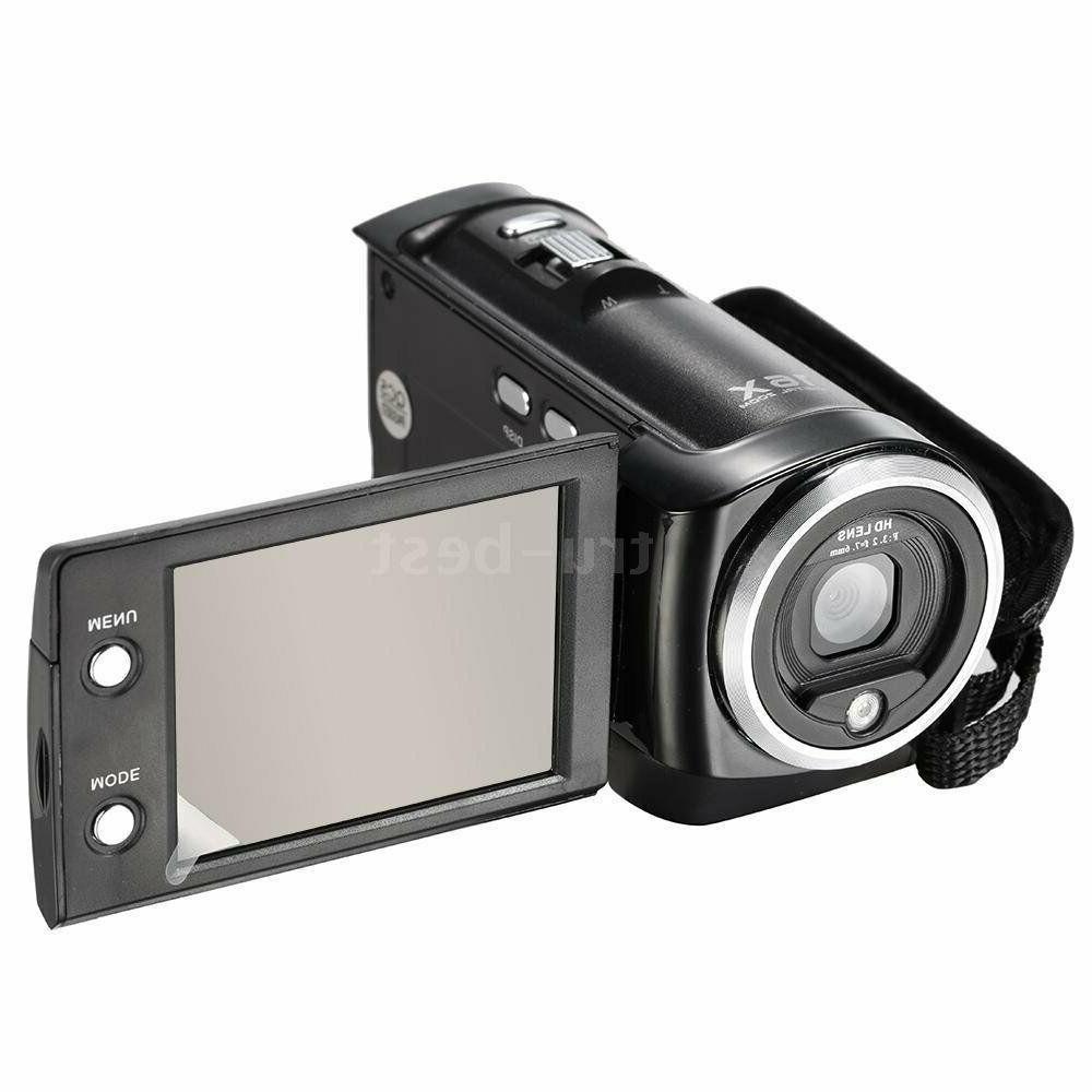 Andoer, Digital Video Camera, HD, LCD 16xDigital Zoom Anti-shake.