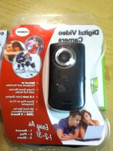 New Cobra Digital DVC955 Video Camera 2 Inch Display DVC955-