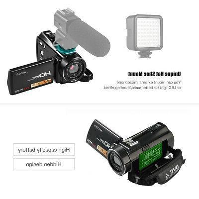 "#US Andoer 3.0"" Full HD 16X Digital Camera"