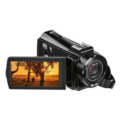 "#US Andoer 1080P 3.0"" Full 16X Zoom Digital Video Camera"