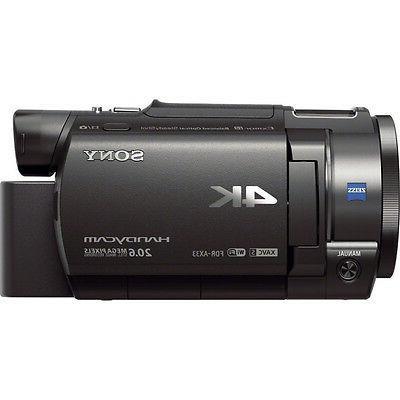 Sony FDR-AX33/B Camcorder Bundle