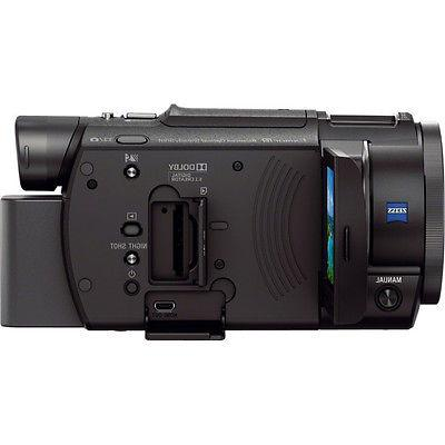 Sony Camcorder Mini Zoom Microphone + 64GB Bundle
