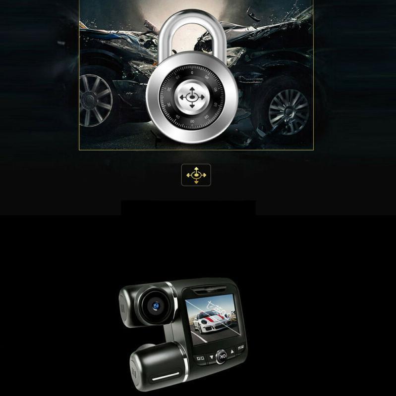 FHD 1080P+1080P Wifi Car DVR Recorder