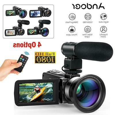 fhd 1080p 24mp 16x digital video camera