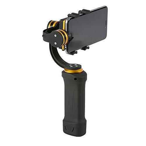 Ikan FLY-X3-PLUS-KIT Smartphone Gimbal Stabilizer, Extra Black