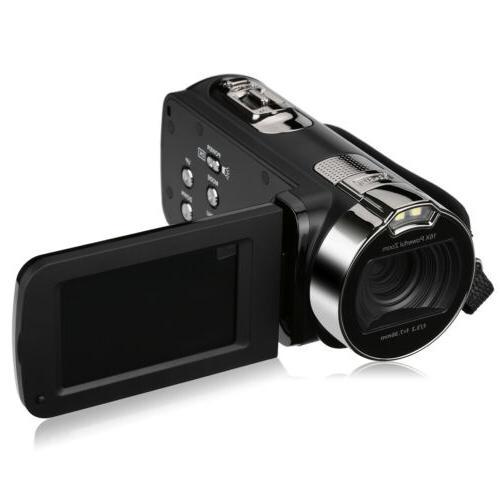 FULL HD 1080P Digital Video 16x Zoom Camcorder Night Light