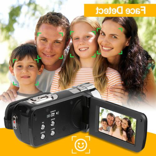 FULL Portable Digital Camera 24MP 16x Night Light