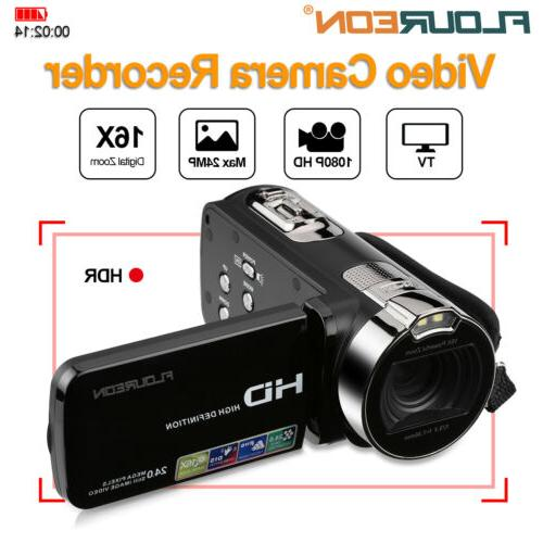 video camera camcorder vlogging camera full hd