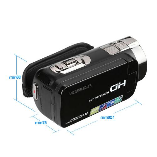 Video Camcorder Camera Full 1080P 24MP Digital