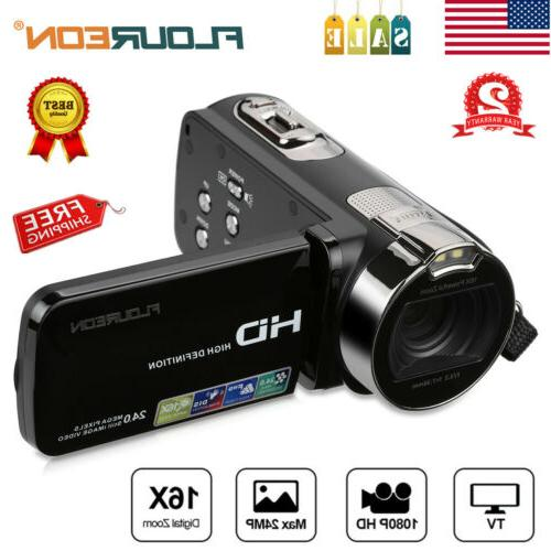 full hd 1080p portable digital video camera