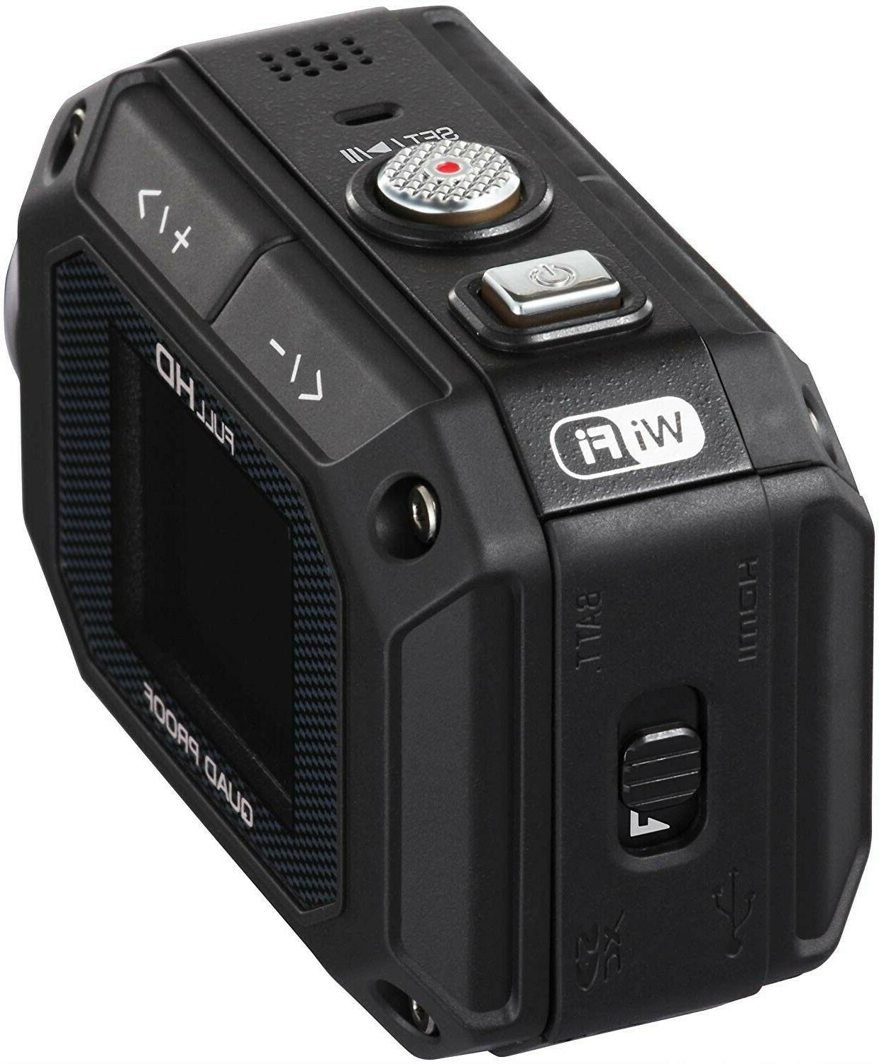 JVC Action Camera 1.5-Inch Black
