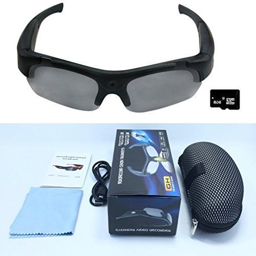 glasses recording hidden eyewear camcorder