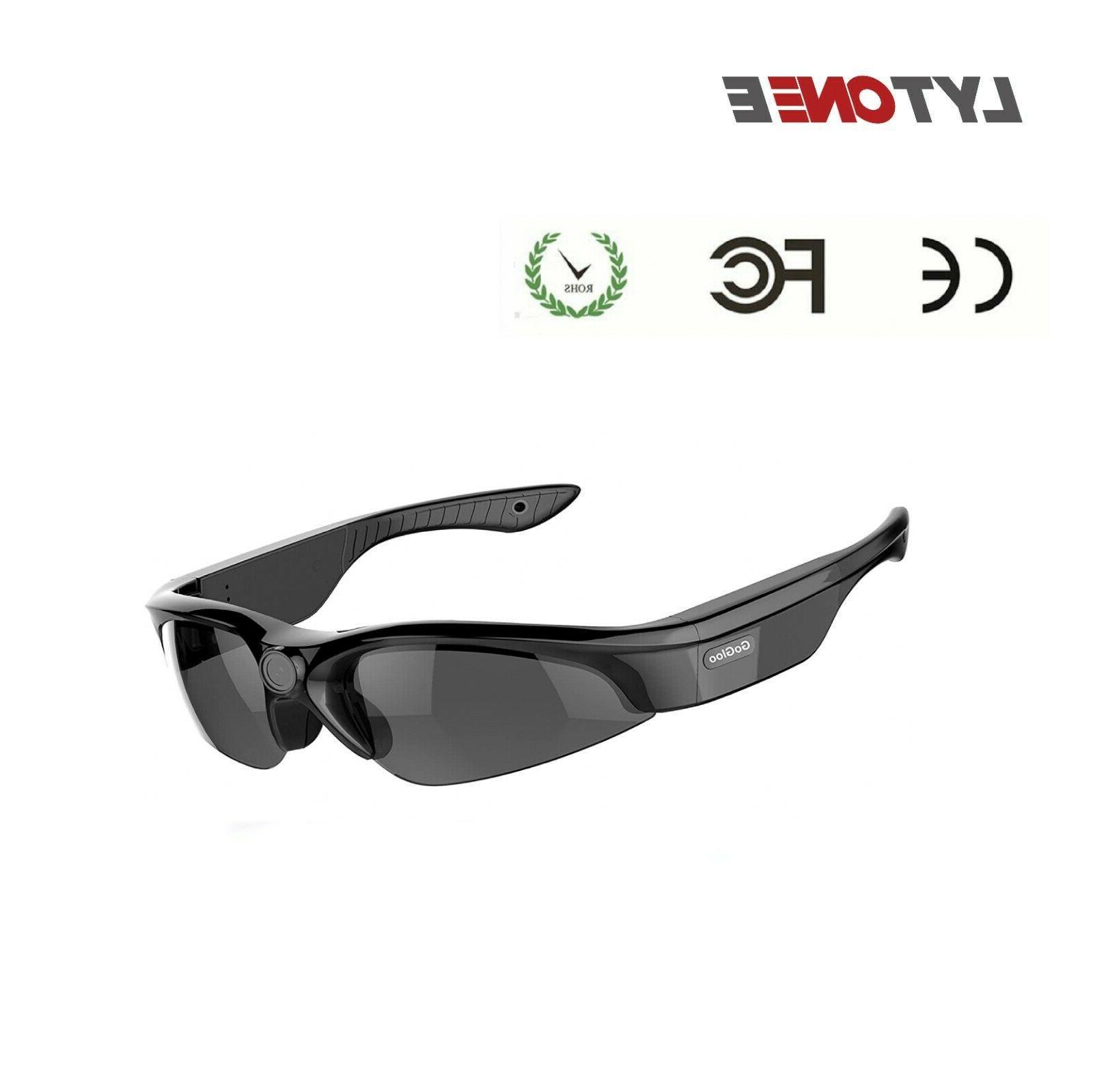 HD Glasses Video Camera DVR Sports Camera 30fps 150 Degree