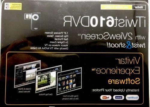 Vivitar HD iTwist DVR 610 - & Two Screen