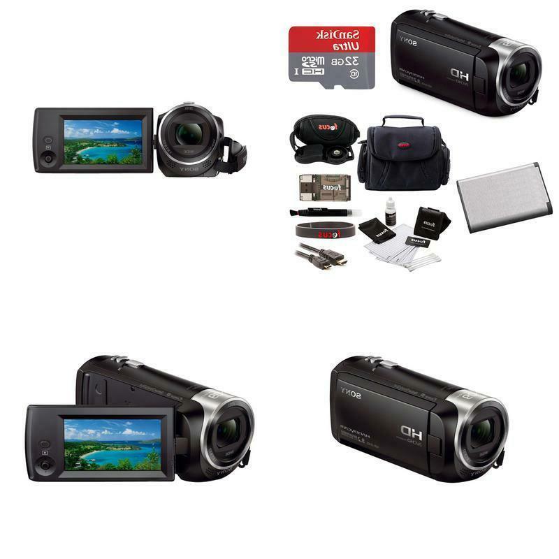 hd video recording hdrcx405 handycam camcorder bundle
