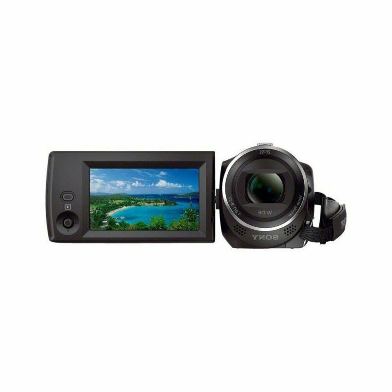 Sony HDR-CX405/B Handycam HD Camcorder 32GB Accessory
