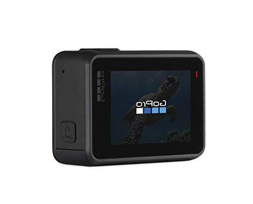 GoPro Black Waterproof Camera with Screen HD Video 12MP Photos