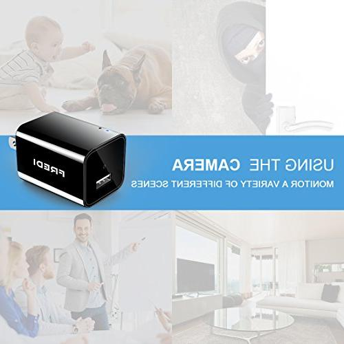 FREDI HD spy Camera for View with Motion