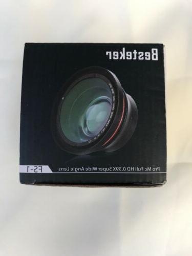Besteker Video Recorder HDV-Z20 w/Microphone/Lens