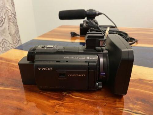 hxr nx30u handheld digital video camera used