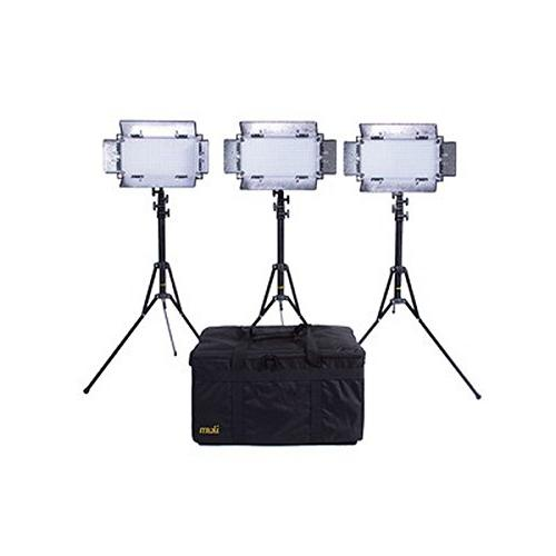 Ikan IB508-V2-KIT | Kit with 3 x IB508-v2 Bi Color LED Studi