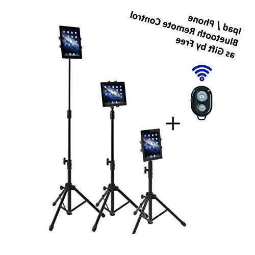 ipad tripod mount floor stand