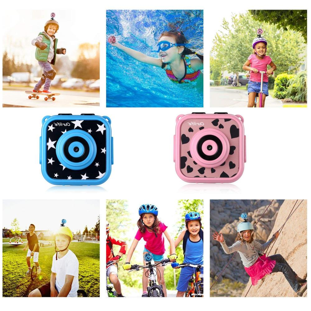 Ourlife kids Waterproof Camera with includes 8GB memory