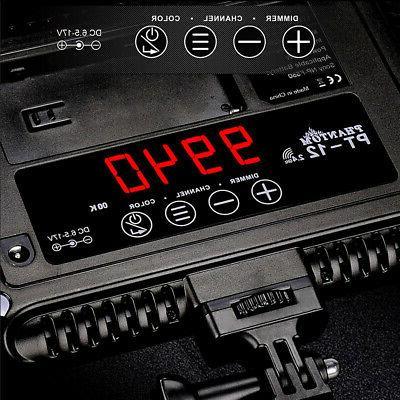 PT-12B Video Camcorder Fill-in Light Canon Nikon Sony Cameras